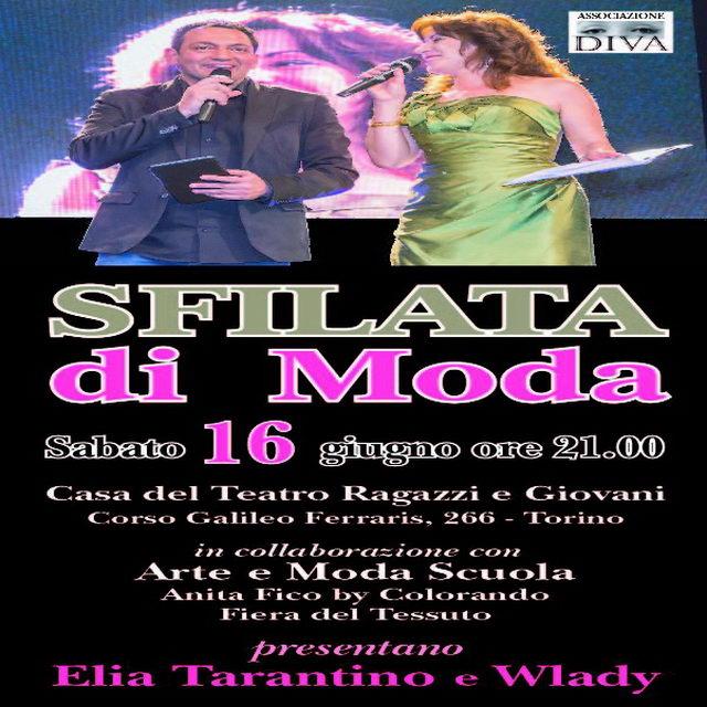 Elia Tarantino Torino 2018 Sfilata di moda