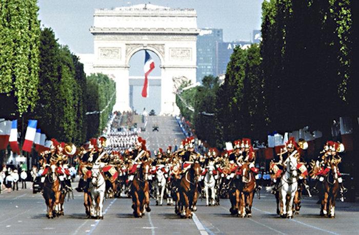 Франция арка победы