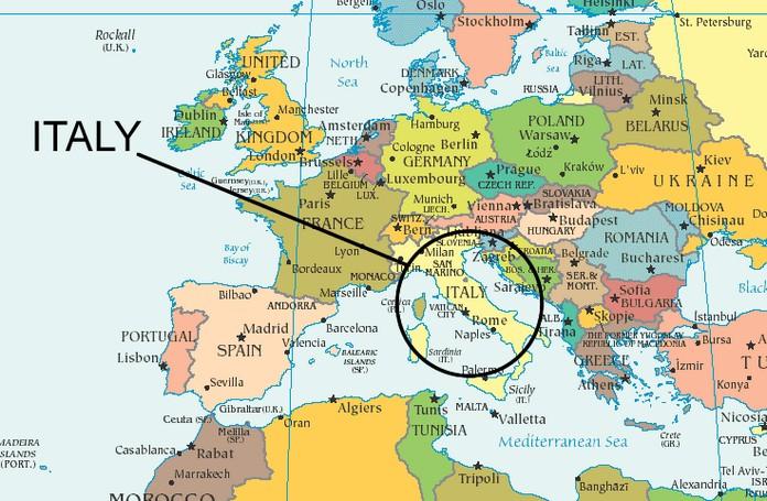 Италия ворота в Европу