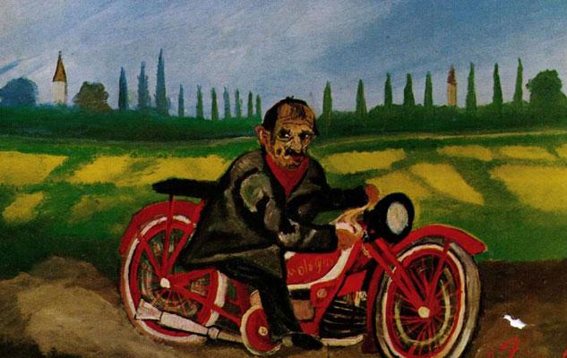 Выставка картин Турин мото