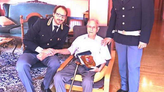 Полицейский участник Второй Мировой войны