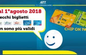 Проездной билет в общественном транспорте Турина