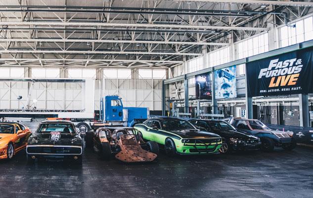 Fast and Furious Live: a Torino События Турина сентябрь 2018 года