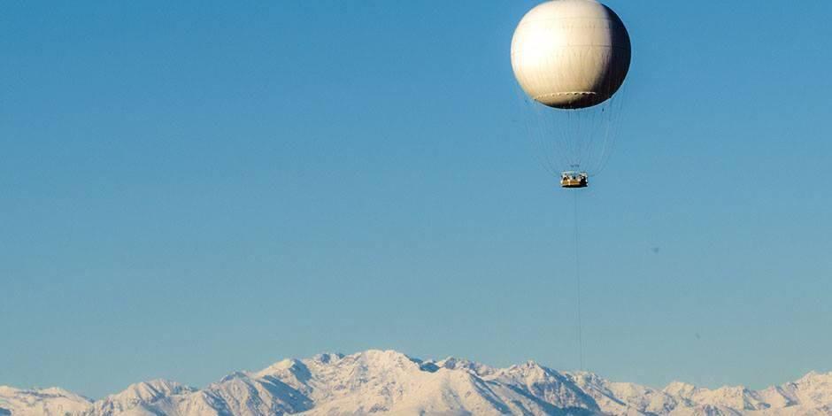Воздушный шар в Турине
