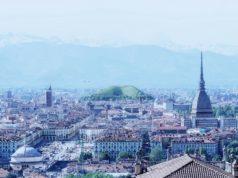 Экологическая гора губка в Турине поглощающая углекислый газ