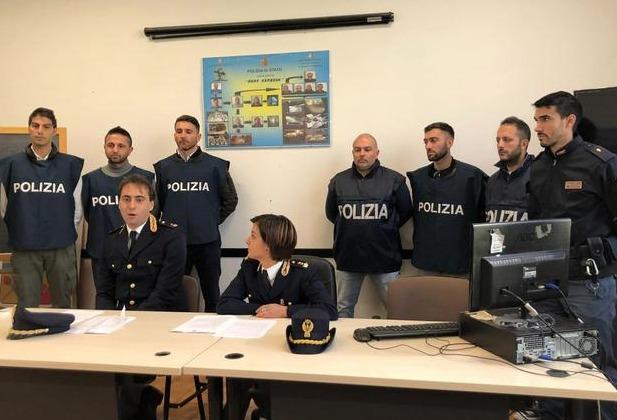 Наркотраффик между пьемонте и ломбардией Италия Турин в октябре 2018 года
