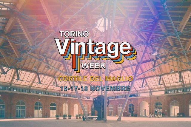 TURIN VINTAGE WEEK Cortile del Maglio Мероприятия Турина ноябрь 2018 года