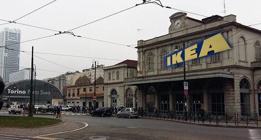 Ikea покупает старый вокзал в Турине