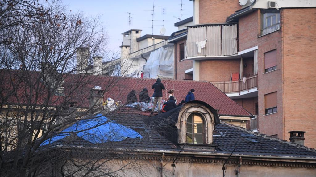 В Турине продолжается противостояние анархистов