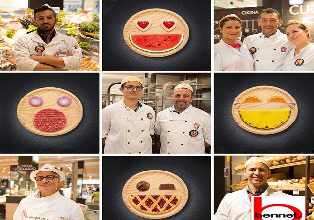 Работа в Италии супермаркеты Bennet в Турине