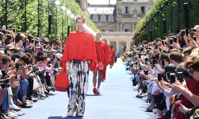 Неделя мужской моды в Италии