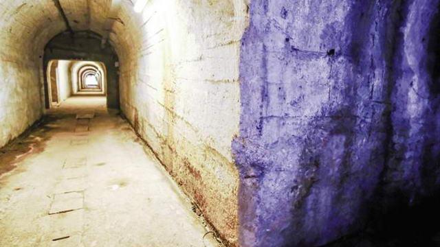Загадочный туннель в Турине это бывшее бомбоубежище Второй Мировой Войны