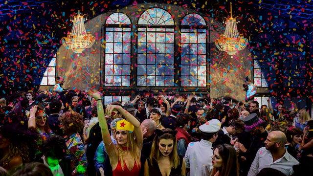 Карнавал в офисе Лавацца в Турине