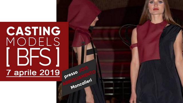 Кастинг для участия в Бароло модный день События Турина апрель 2019 года