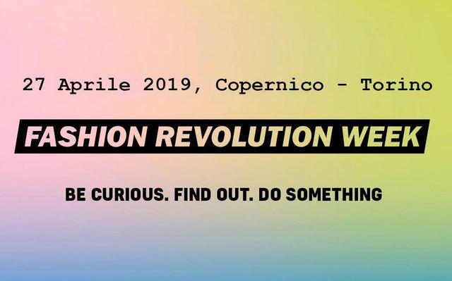 Fashion Revolution Torino 2019