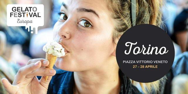 Фестиваль мороженого в Турине