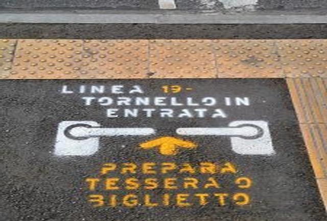 На автобусах с турникетами входить в салон можно будет только через передние двери События Турина март 2019 года
