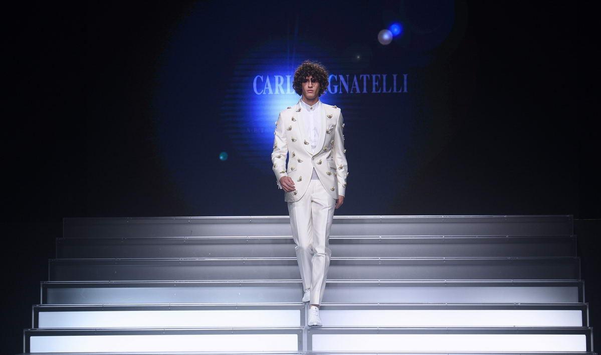 Sfilata Carlo Pignatelli Torino HOAS uomo