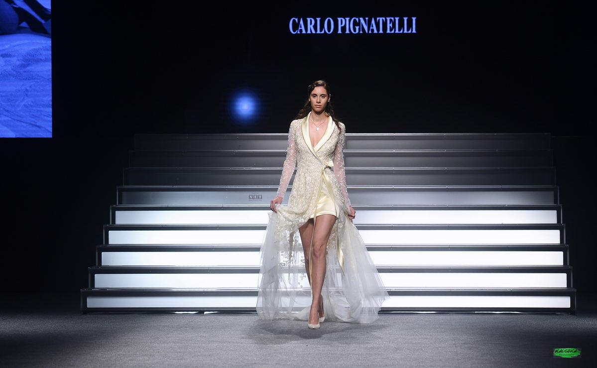Sfilata Carlo Pignatelli Torino HOAS dona