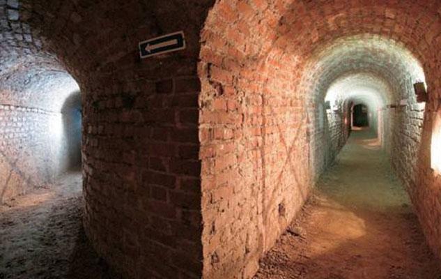 Экскурсия в подземный Турин