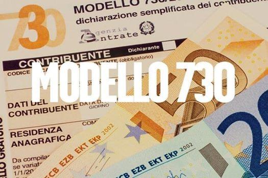 в Италии 730, dichiarazione dei rediti