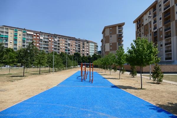 В Турине открылся новый парк спортивные площадки