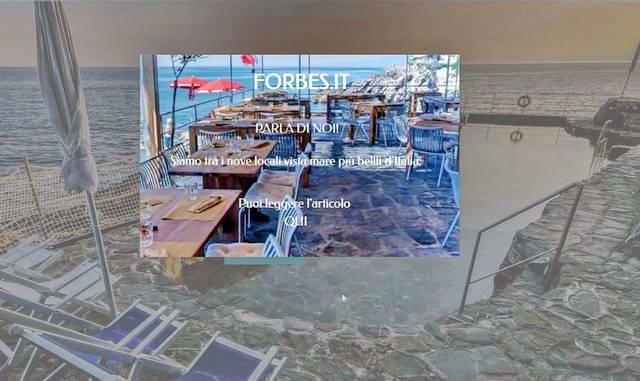 В Лигурии два ресторана на море считаются одними из самых красивых в Италии по версии Forbes