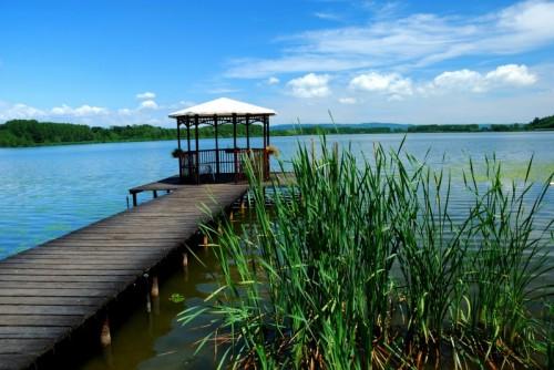 Озера Пьемонта замечательное место для купания Candia