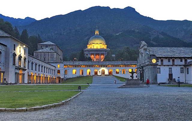 Святилище Оропы в Пьемонте история, искусство и красота волшебного места