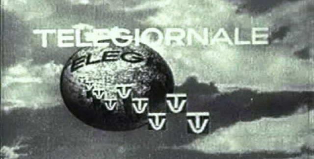 Телевизионная студия Милана более 65 лет назад начала транслировать первые итальянские новости