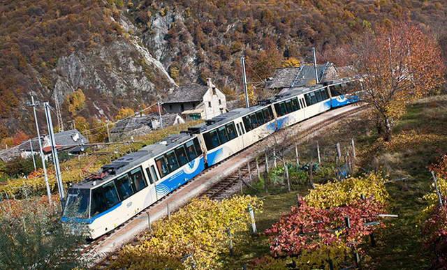 Деревни Пьемонта путешествие на поезде