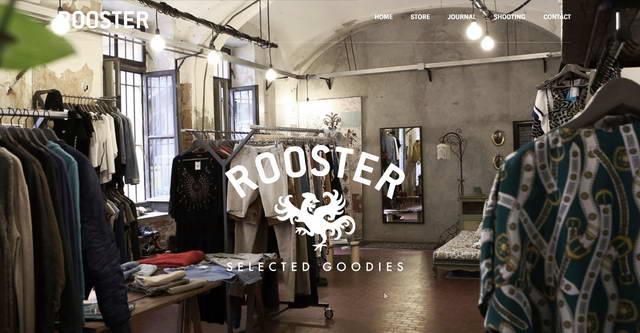В районе Ванкилья в Турине магазин Rooster,