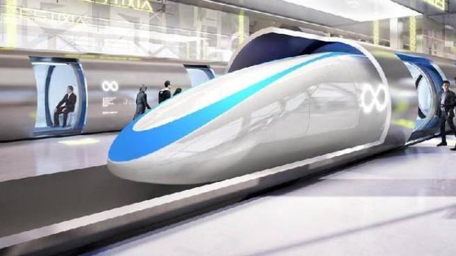 Милан-Турин за 7 минут Первый Hyperloop в Италии все ближе. Сверхбыстрый поезд с магнитной левитацией