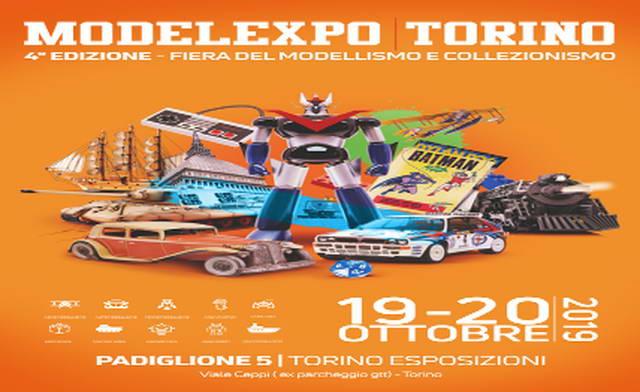 ModelExpo Torino 19 и 20 октября ярмарка моделей и коллекционирования Турин