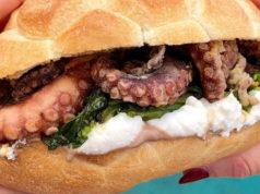 Знаменитые морские сэндвичи в Италии Турин