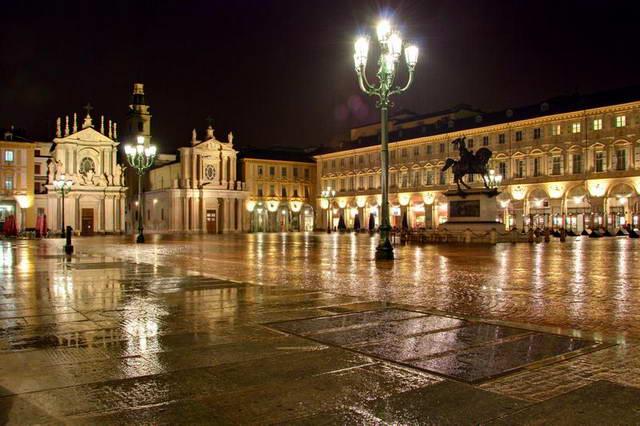Фотосессии под дождем в Турине Север Италии