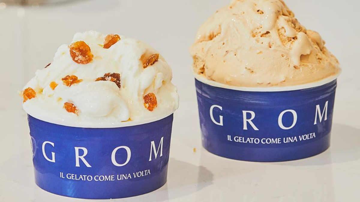 Работа в Турине в кафе мороженное Grom