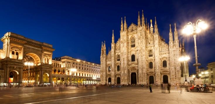 Милан столица моды является одним из наиболее рекомендуемых городов