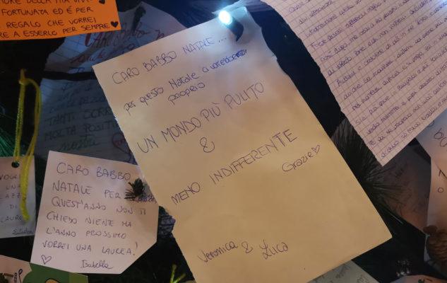 Среди желаний туринцев чаще всего пишут о окружающей среде Новогодняя елка в Турине