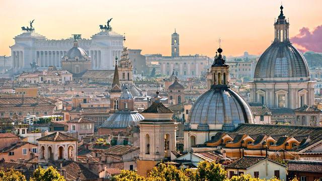 Рим вечный город