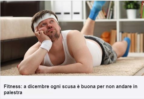 Итальянцы в предпраздничный период вялы и ленивы причины не ходить в спортзал Турин