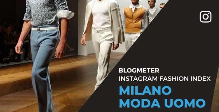 По случаю Миланской недели моды, посвященной мужской моде, Blogmeter провела мониторинг наиболее активных модных брендов в Instagram