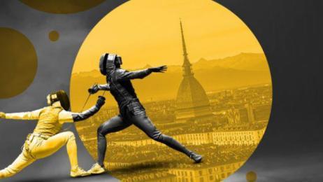 Grand Prix Fie отличное фехтование на Пала Альпитур в Турине