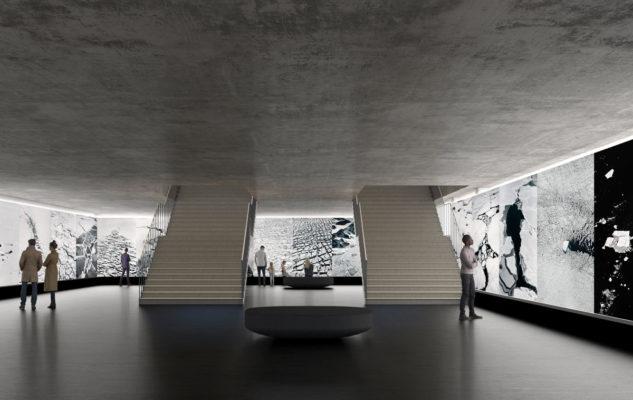 Rendering Галерея Италия Новый музей Турина посвященный фотографии
