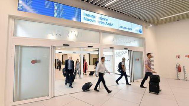 Проверка состояния здоровья в аэропортах Италии коронавирус