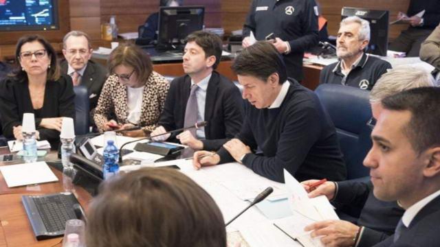 Коронавирус, постановление правительства Италии