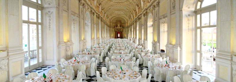 Арендовать королевский дворец в Италии для свадьбы Турин