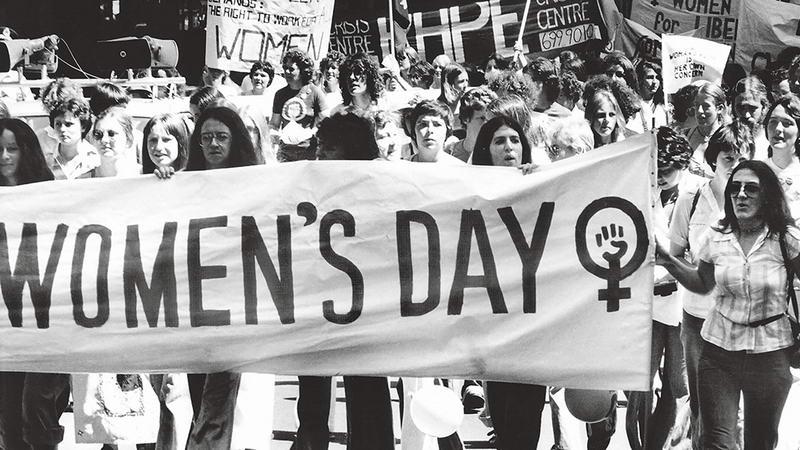 8 марта 1972 года Международный женский день был проведен в Риме в Кампо-де-Фьори
