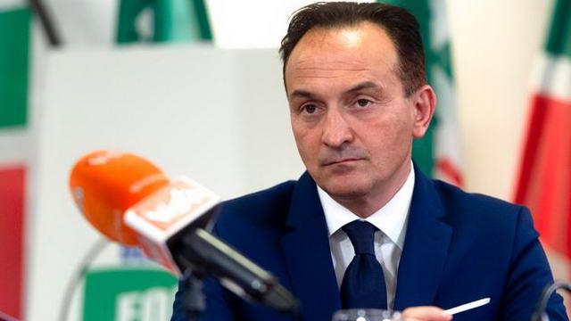 Президент Пьемонта Алберто Чирио