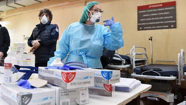 Смерть от коронавируса в Италии